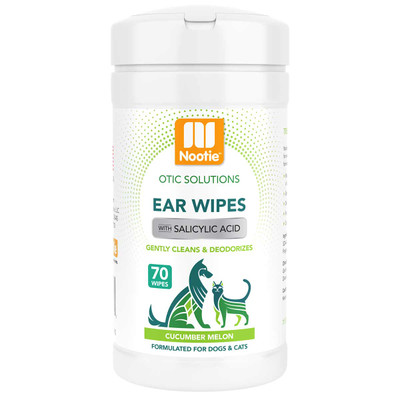 Nootie Ear Wipes Cucumber Melon 70 Count