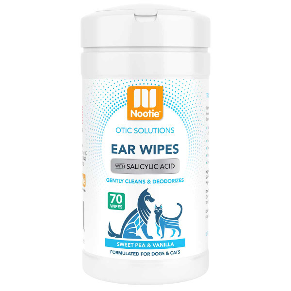 Nootie Ear Wipes Sweet Pea and Vanilla 70 Count