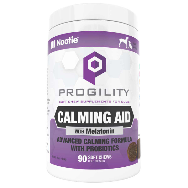 Nootie Progility Calming Soft Chews Supplements for Dogs 90 Count available at Ryan's Pet Supplies