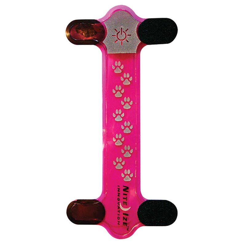 Nite Dawg Led Collar Cover Pink for Dogs