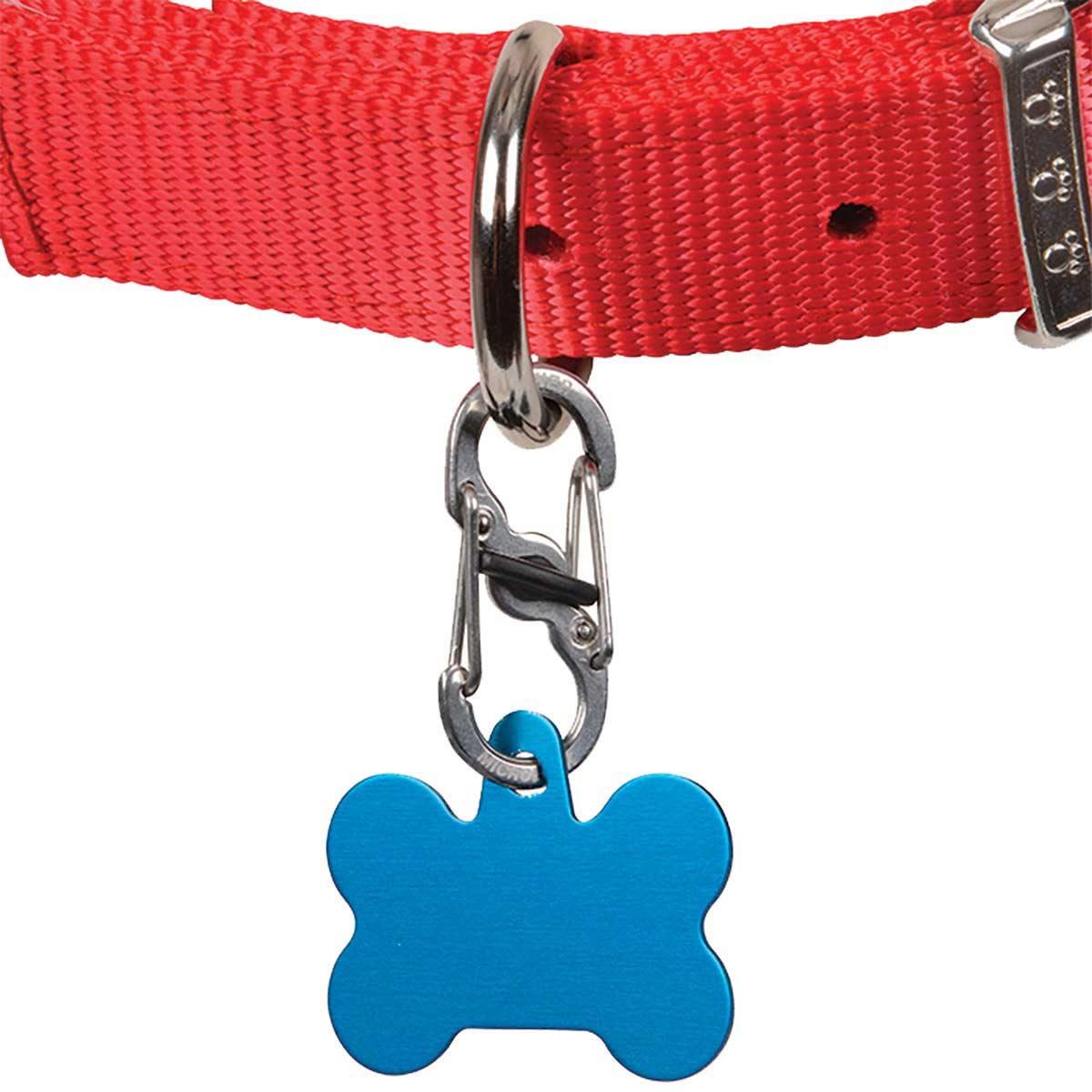 Nite Ize S-Biner Taglock for Dog Collars - Stainless-Steel