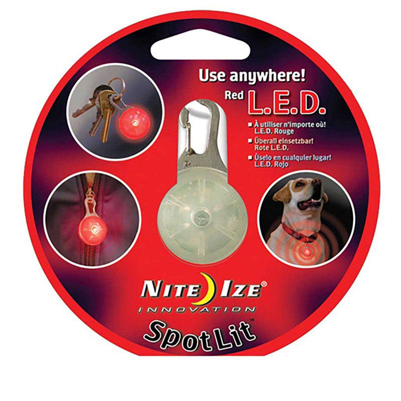 Nite Ize Red LED Spotlit