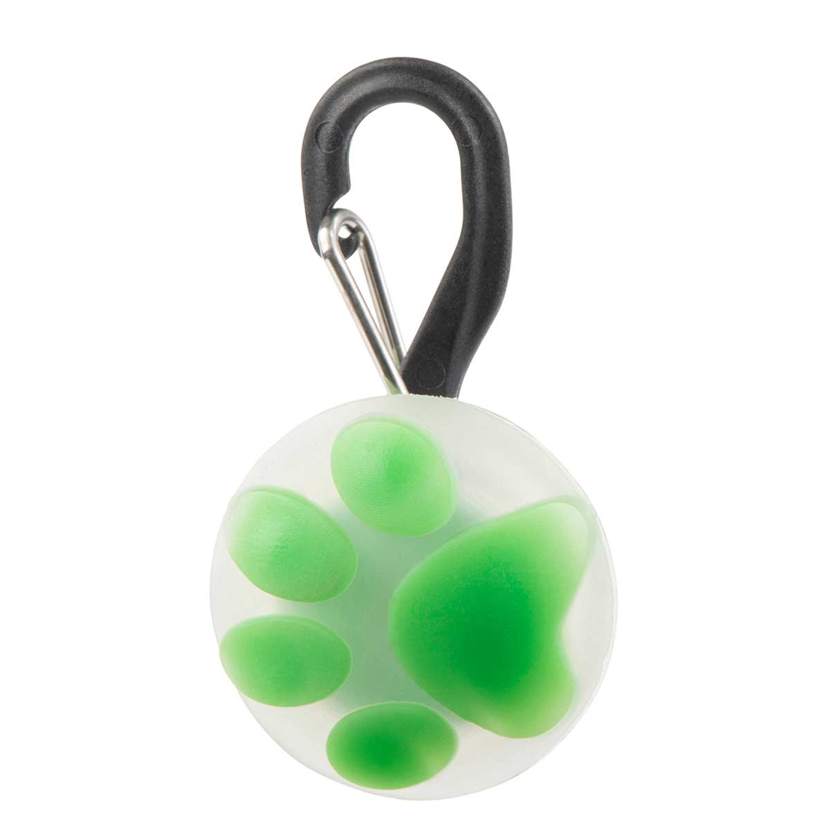 Nite Ize Petlit LED Collar Light Lime Paw