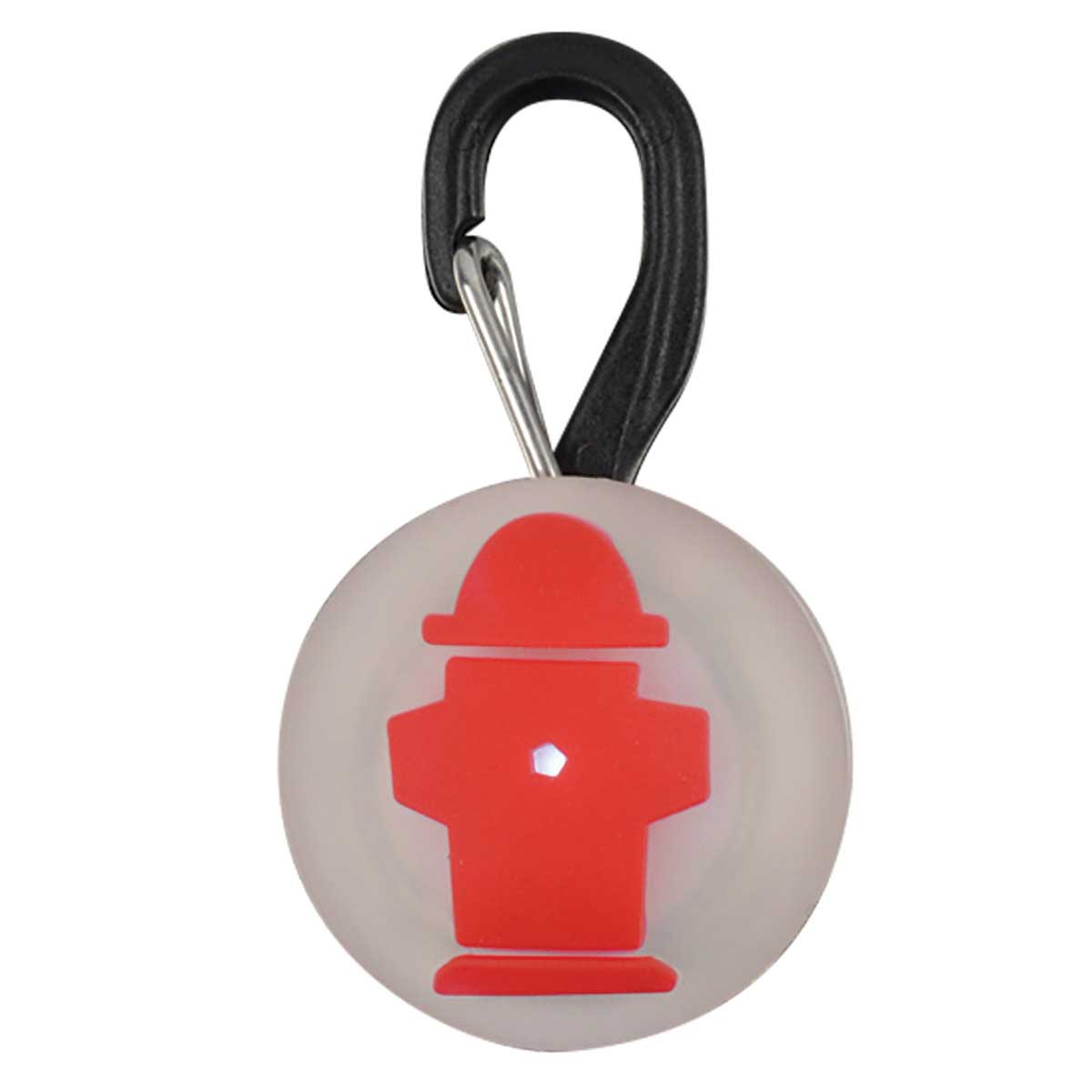 Nite Ize Petlit LED Collar Light Red Hydrant for Dogs