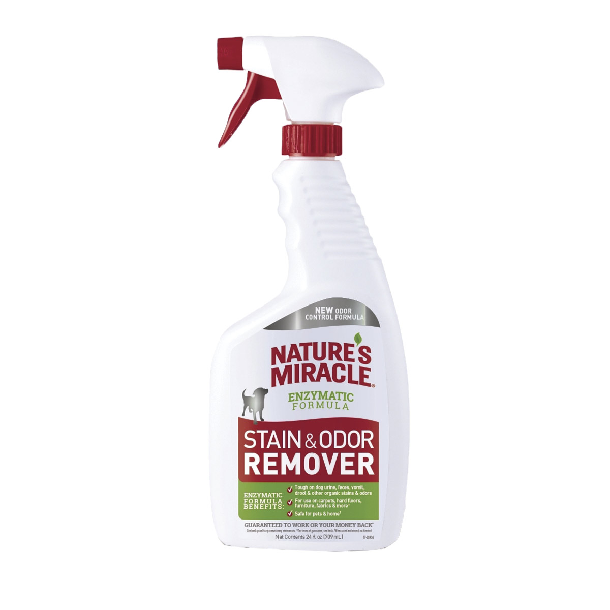 Nature's Miracle Stain & Odor Remover - Enzymatic Formula 24 oz