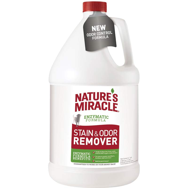 Nature's Miracle Enzymatic Formula Stain & Odor Remover for Home - 1 Gallon
