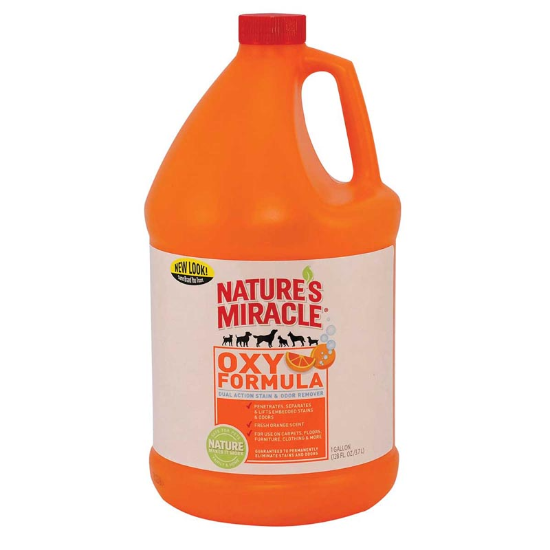 Nature's Miracle Orange Scent Oxy Stain & Odor Remover for House - 1 Gallon