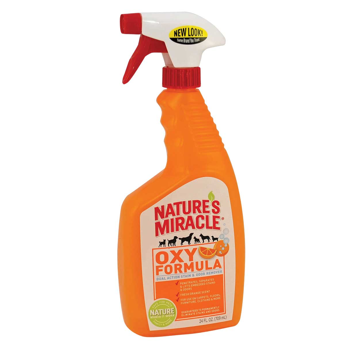 24 oz Nature's Miracle Oxy Stain & Odor Remover - Orange Scent