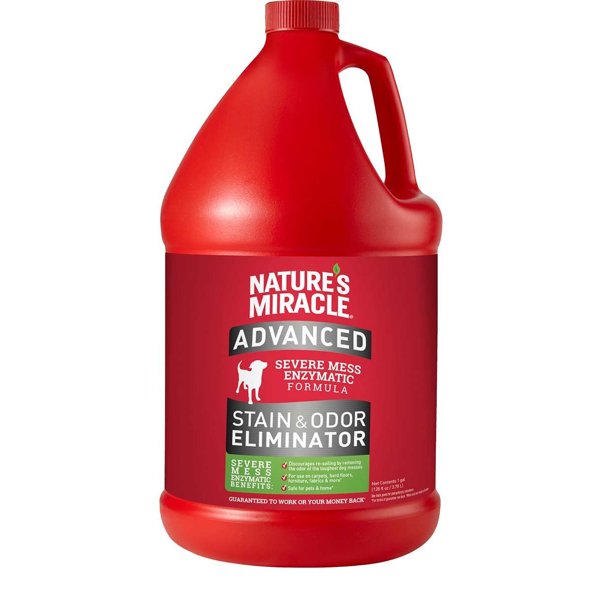 Nature's Miracle Advanced Stain and Odor Remover for Dogs Gallon at Ryan's Pet Supplies