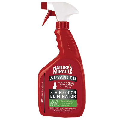 32 oz Nature's Miracle Advanced Stain and Odor Remover for Cat