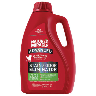 Dog Nature's Miracle Advanced Stain and Odor Gallon