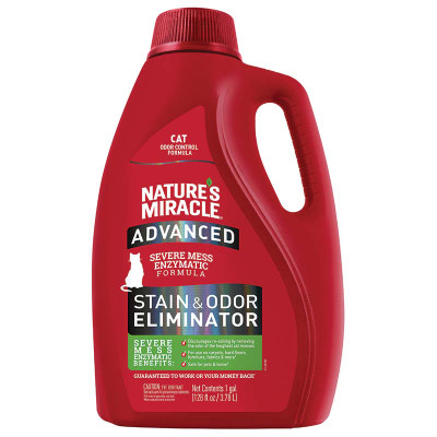 Gallon of Nature's Miracle Advanced Stain and Odor Original - Cat at Ryan's Pet Supplies