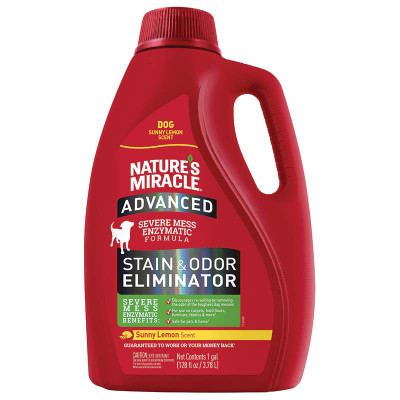 Sunny Lemon Gallon Nature's Miracle Advanced Stain and Odor for Dog at Ryan's Pet Supplies