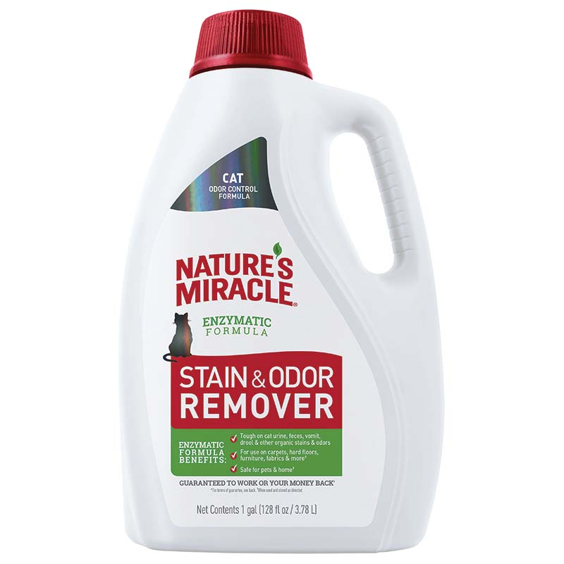 Nature's Miracle Cat Stain and Odor Remover Gallon at Ryan's Pet Supplies