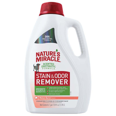 Nature's Miracle Dog Stain and Odor Remover Gallon Melon at Ryan's Pet Supplies