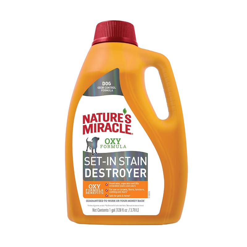 Gallon of Nature's Miracle Set in Stain Destroyer at Ryan's Pet Supplies
