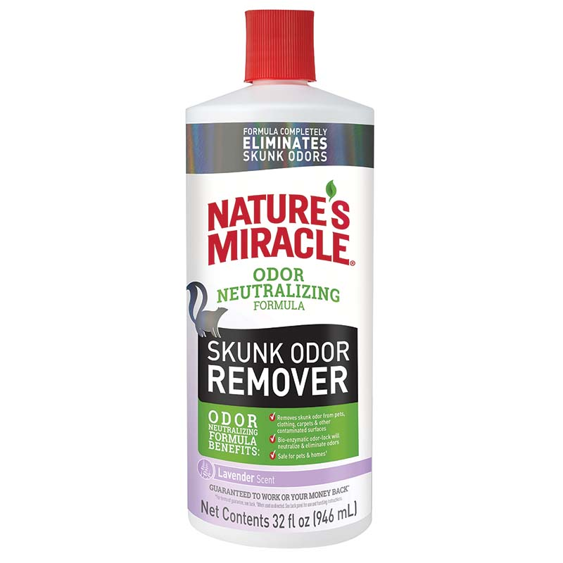 32 oz Nature's Miracle Skunk Odor Remover Lavender at Ryan's Pet Supplies