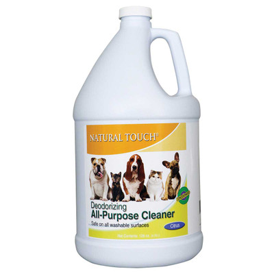 Nilodor Natural Touch Deodorizing All Purpose Cleaner Concentrate Citrus Scent Gallon