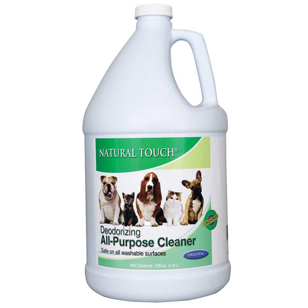 Nilodor Natural Touch Deodorizing Cleaner Concentrate Original Scent Gallon