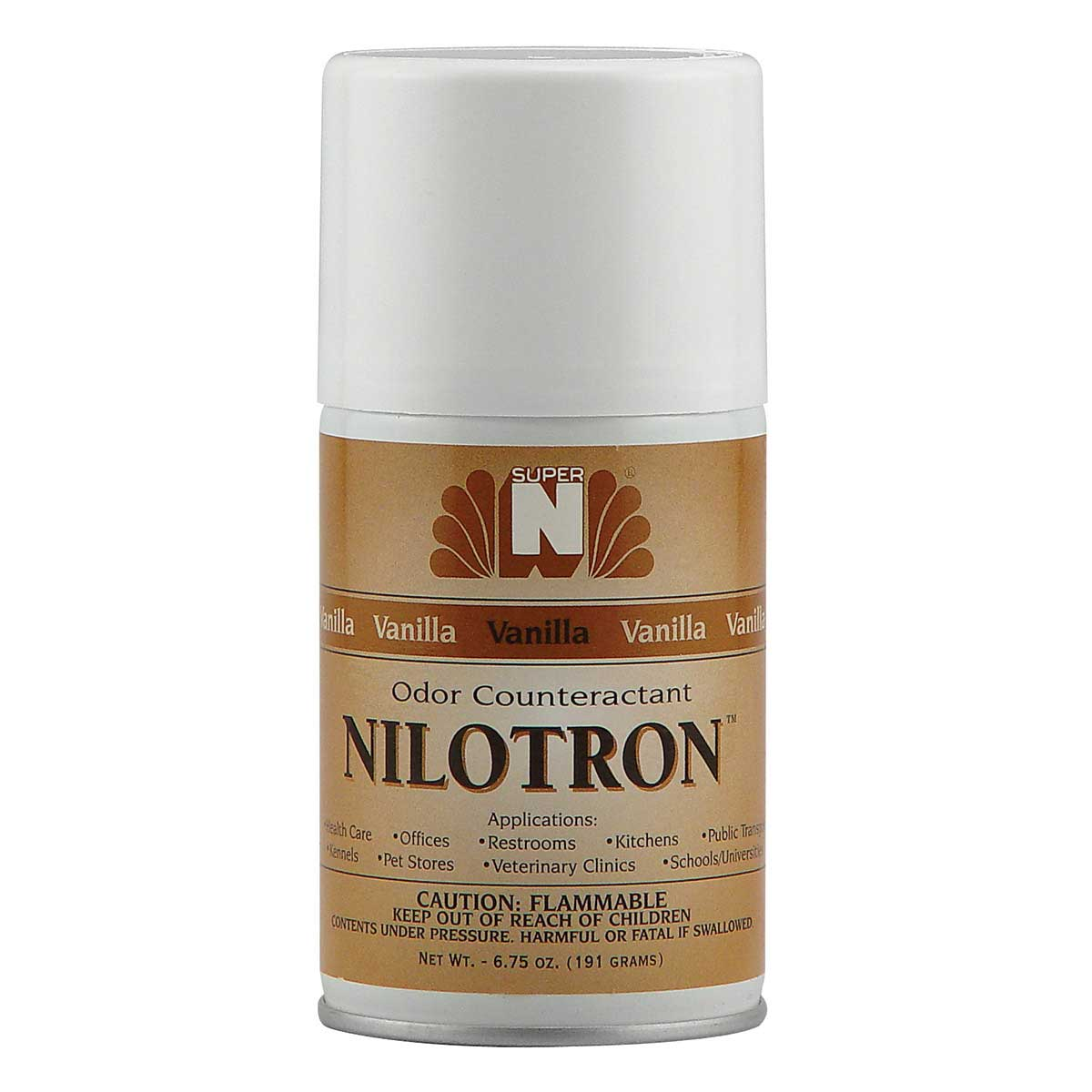 Nilotron Refill Vanilla Scent 7 oz for Odor Control