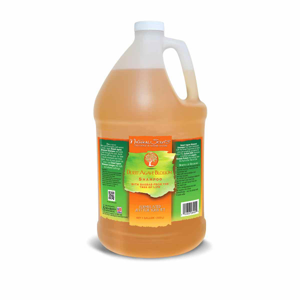 Gallon of Natural Scents Desert Agave Blossom Shampoo