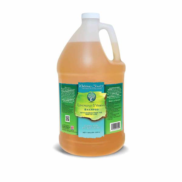Gallon of Natural Scents Lemon Grass and Verbena Shampoo