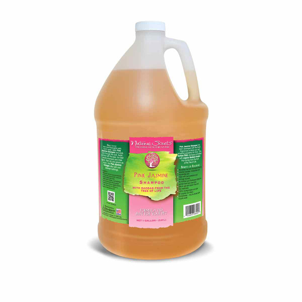 Gallon of Natural Scents Pink Jasmine Shampoo