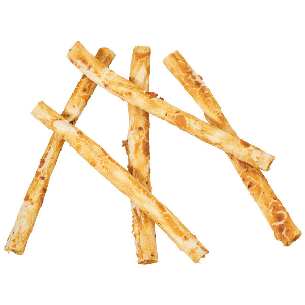 Skinny Sticks out of the package - Nothin' to Hide Rawhide Alternative Peanut Butter Rolls