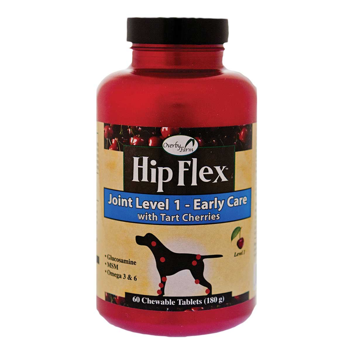 Overby Farm Hip Flex Joint Level One Early Care - 60 Count, 180 g