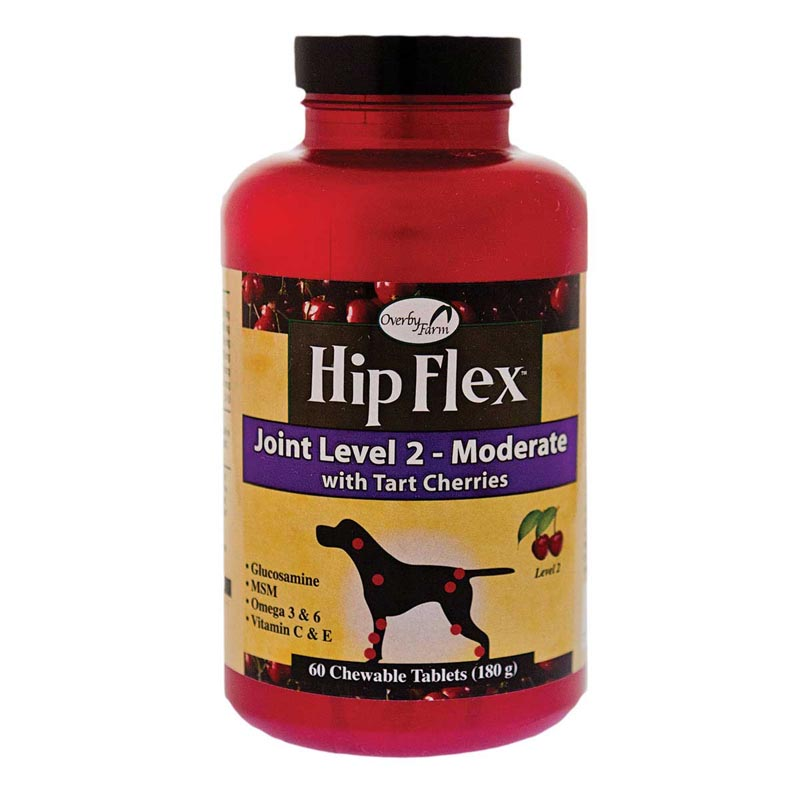 Overby Farm Hip Flex Joint Level Two Moderate - 60 Count, 180 g
