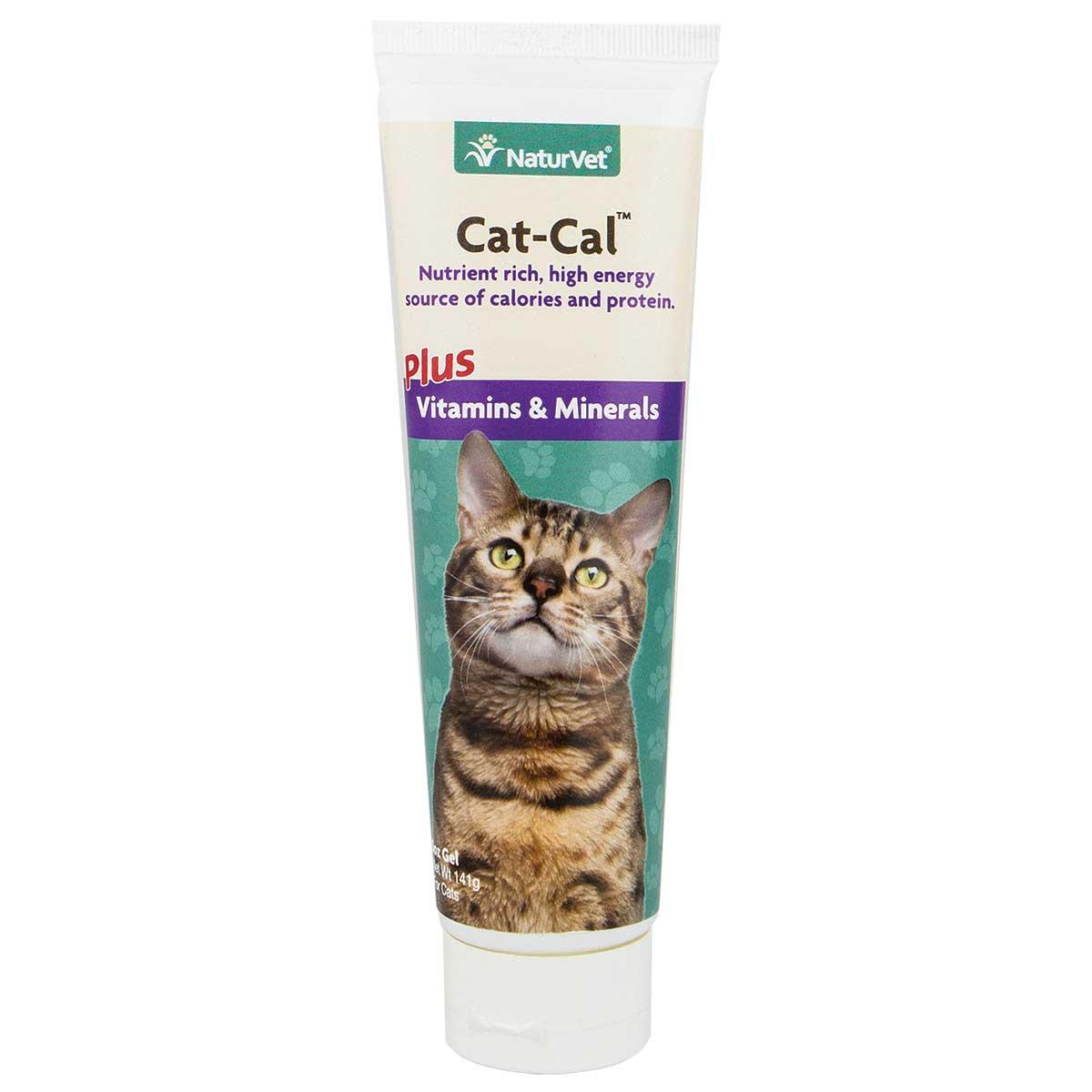 NaturVet Cat-Cal Plus Vitamins & Minerals Gel 5 oz