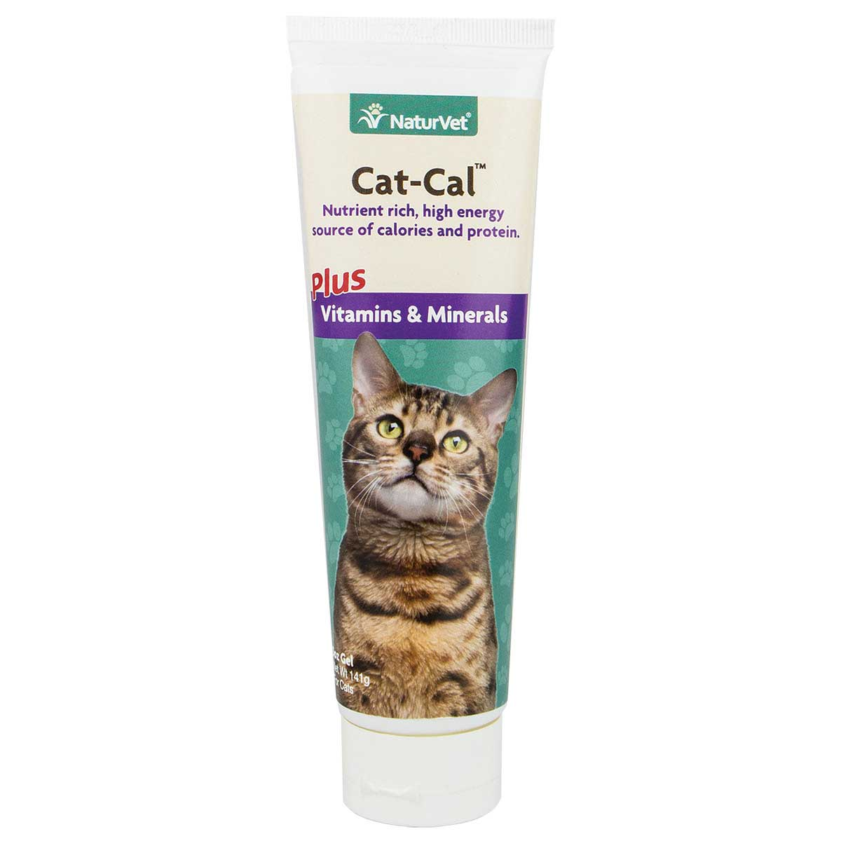 NaturVet Cat-Cal Plus Vitamins & Minerals Gel 5 oz