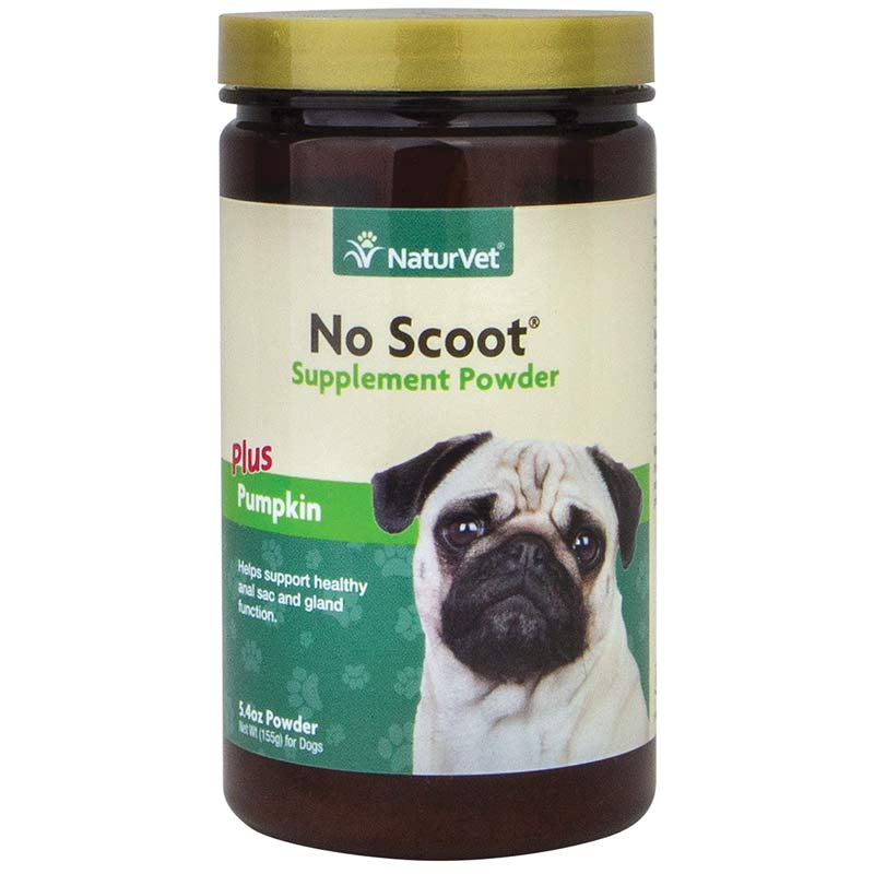 NaturVet No Scoot Fiber Supplement Powder for Dogs