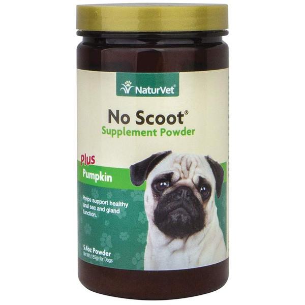 NaturVet No Scoot Fiber Supplement Powder for Dogs