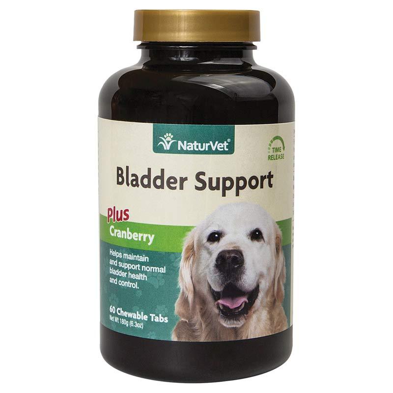 NaturVet Dog Bladder Support Plus Cranberry - Time Release 60 Tablets