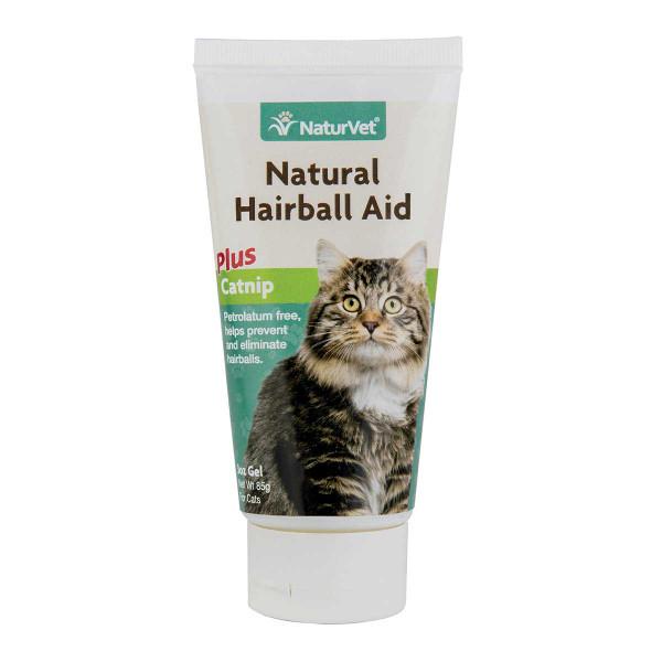 NaturVet Natural Hairball Aid with Catnip Gel 3 oz
