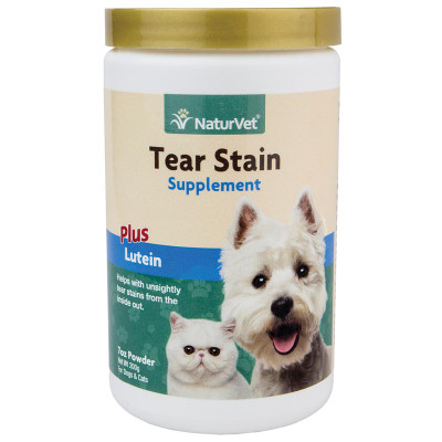 NaturVet Tear Stain Supplement Powder Plus Lutein 200G