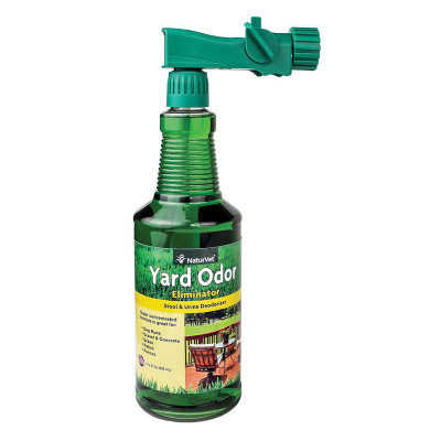 NaturVet Yard Odor Eliminator - Neutralizes Stool and Urine Odor 31.6 oz