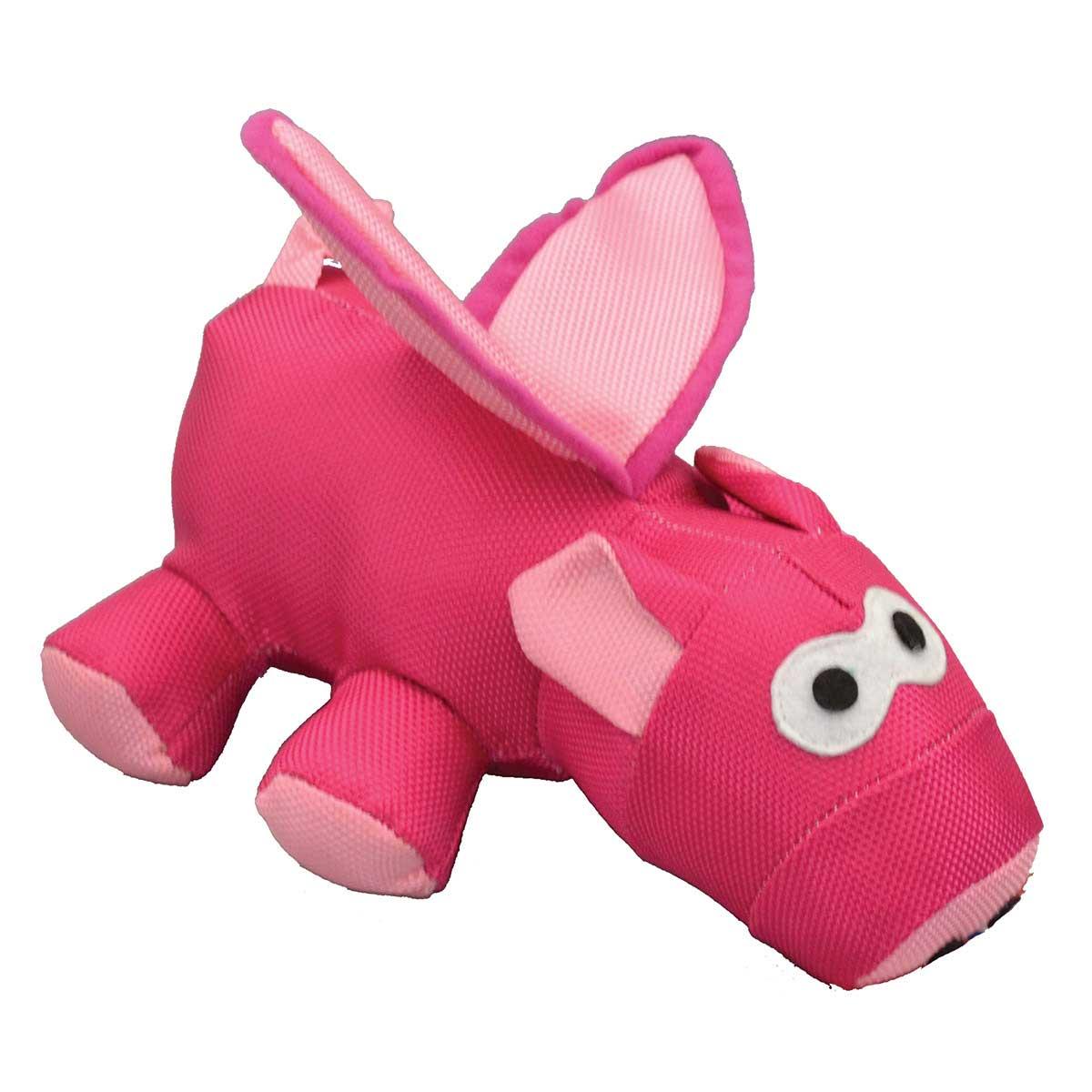 Slinger Flying Pig Stuffed Dog Toy - 8.5 inch