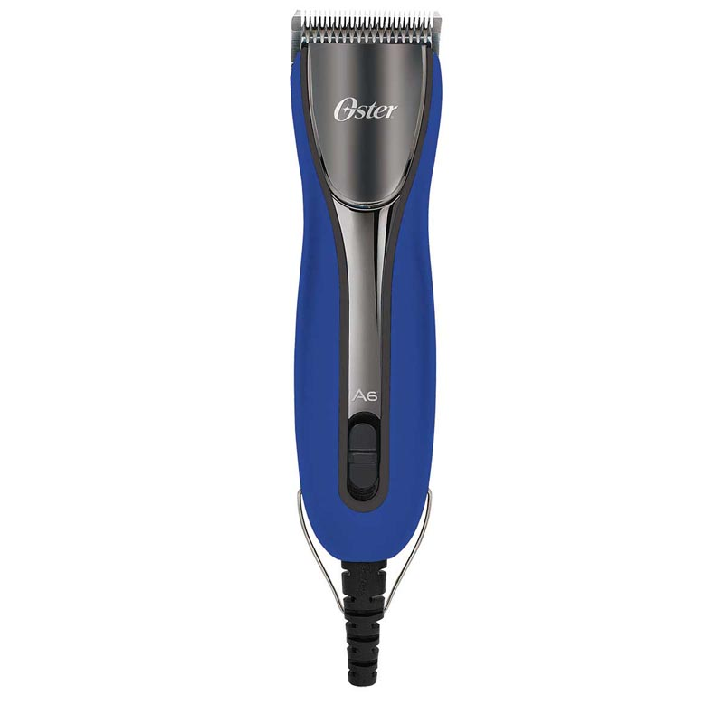 Professional Grooming Oster A6 Cool Comfort Heavy Duty 3 Speed Clipper with 10 Blade in Electric Blue