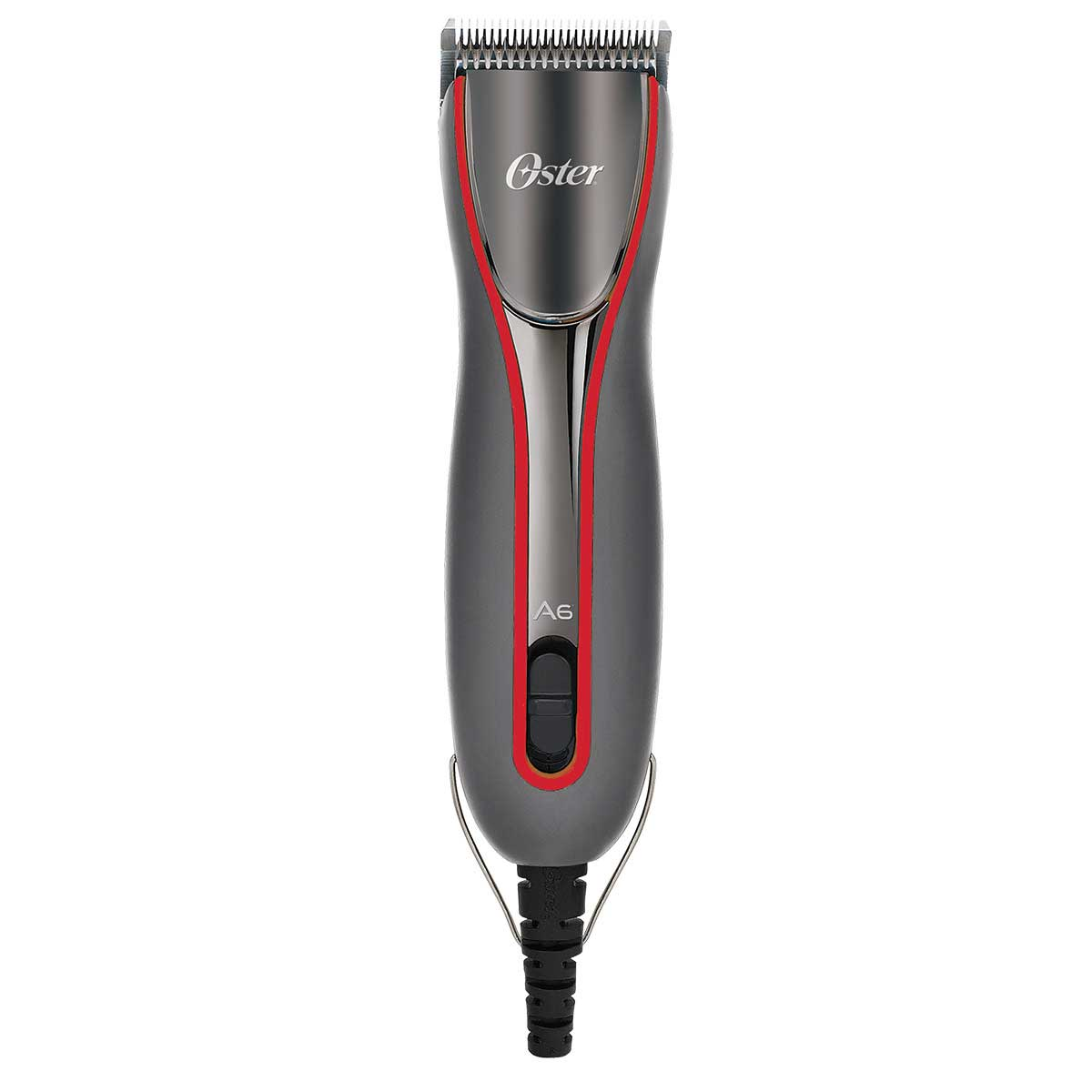 Oster A6 Cool Comfort Heavy Duty 3 Speed Red Rocket Clipper with 10 Blade