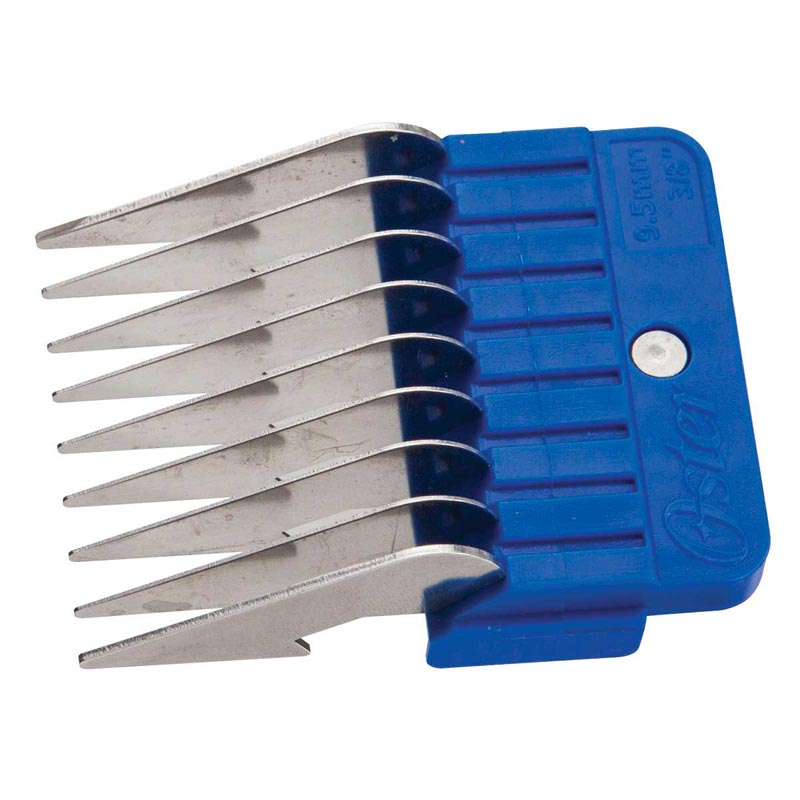Side View Oster Stainless Steel Guide Comb 3/8 inch - 9.5mm