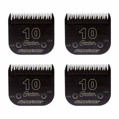 Oster Super Steel Blade #10 - 4 Pack