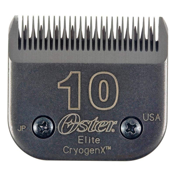 Oster Elite Cryogen-X #10 Dog Grooming Blade 1/16 inch Cut at Ryan's Pet Supplies