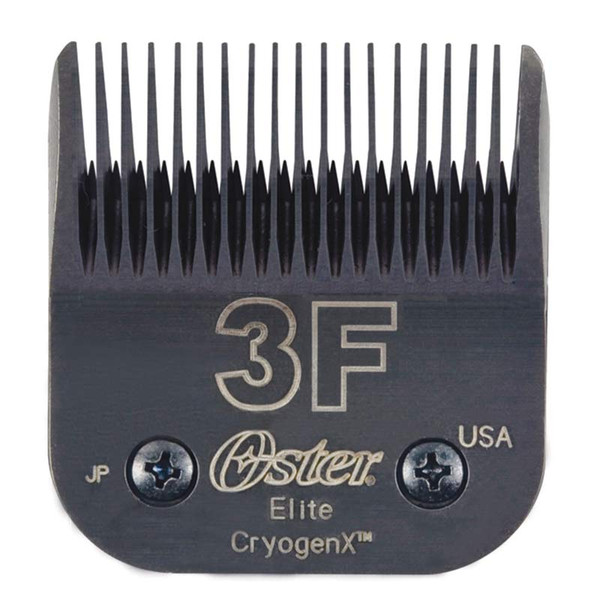 "Oster Elite Cryogen-X #3F Blade Full Tooth 1/2"" Cut"