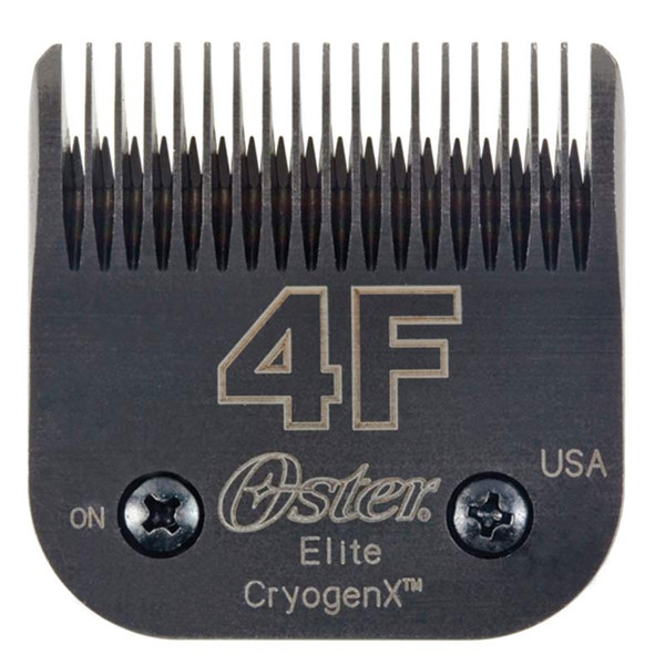 #4F Oster Elite Cryogen-X Blade Full Tooth 3/8 inch Cut for Professional Pet Groomers