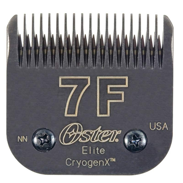 Oster Elite Cryogen-X #7F Blade Full Tooth 1/8 inch Cut at Ryan's Pet Supplies