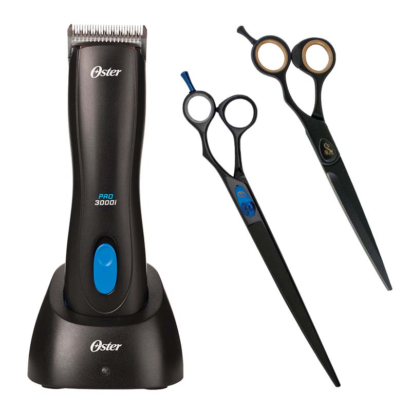 Oster Pro3000I Clipper and Shear Bundle