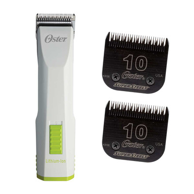 Oster Volt Lithium +Ion Clipper and Super Steel Blade Bundle