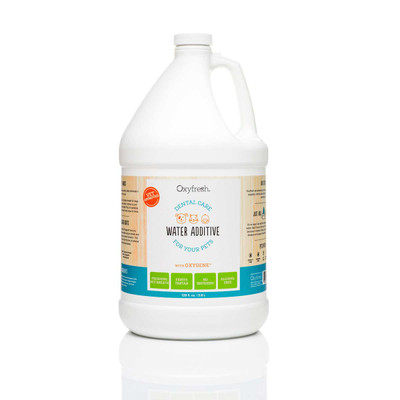 Oxyfresh Water Additive Gallon for Dogs and Cats